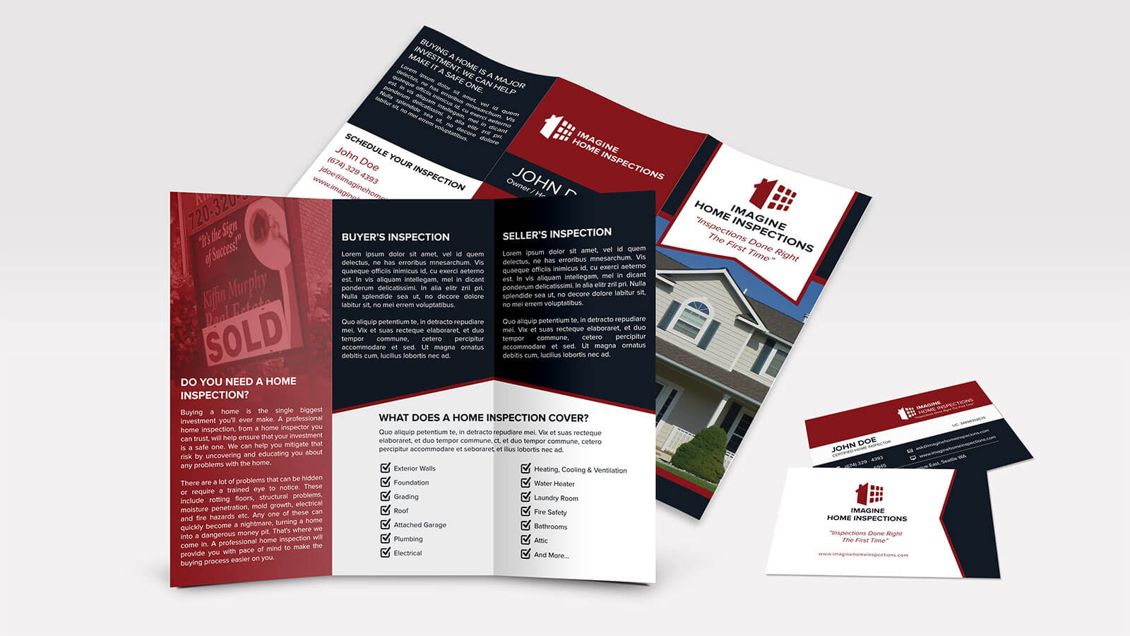 Professionally Designed Business Cards & Brochures | All American ...